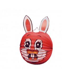Farol con forma de conejo