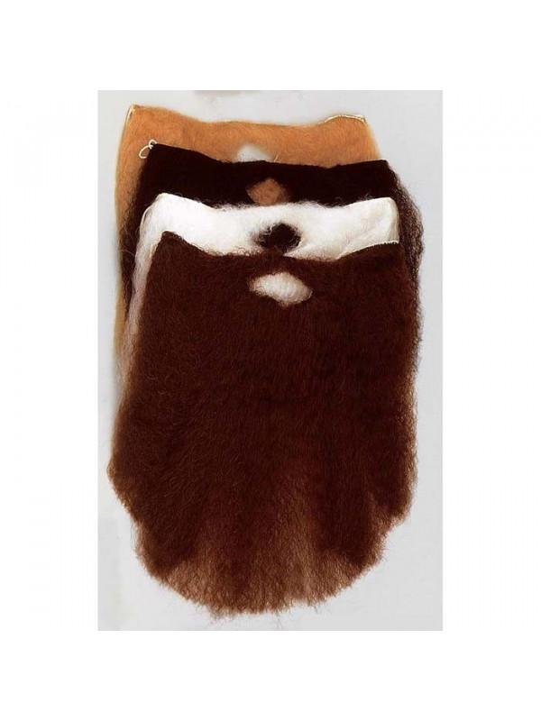 Barba y bigote grande larga