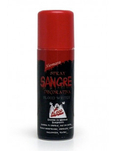Spray sangre decorativa