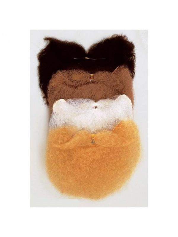 Barba y bigote adhesivo
