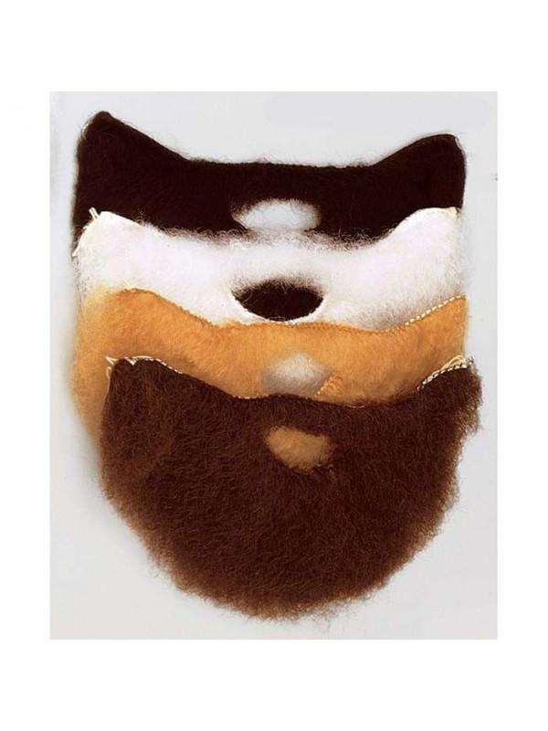 Barba y bigote mediano