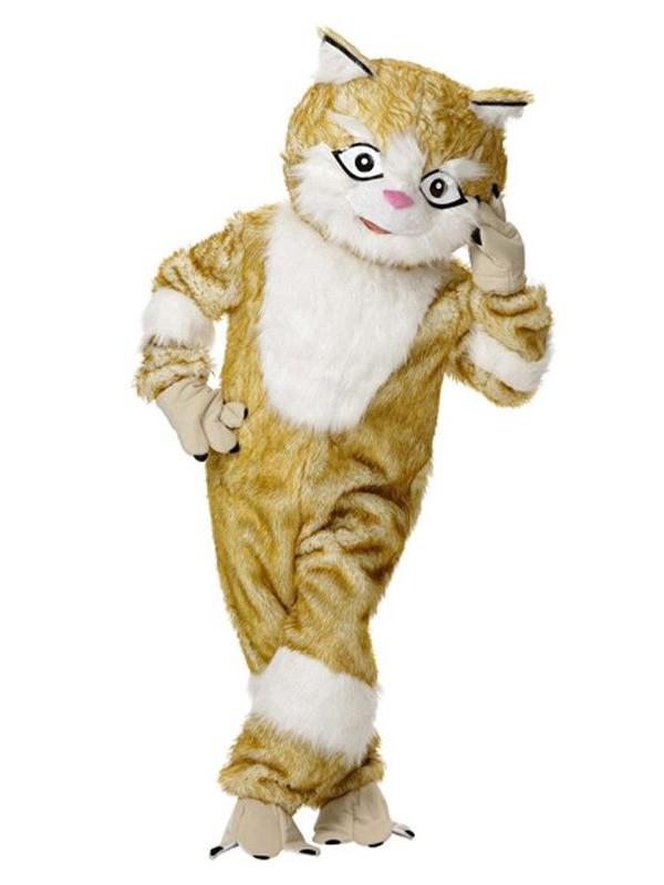 Mascota de gato peluche
