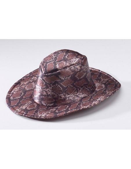 Sombrero cowboy serpiente