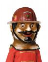 Cabezudo bombero grande