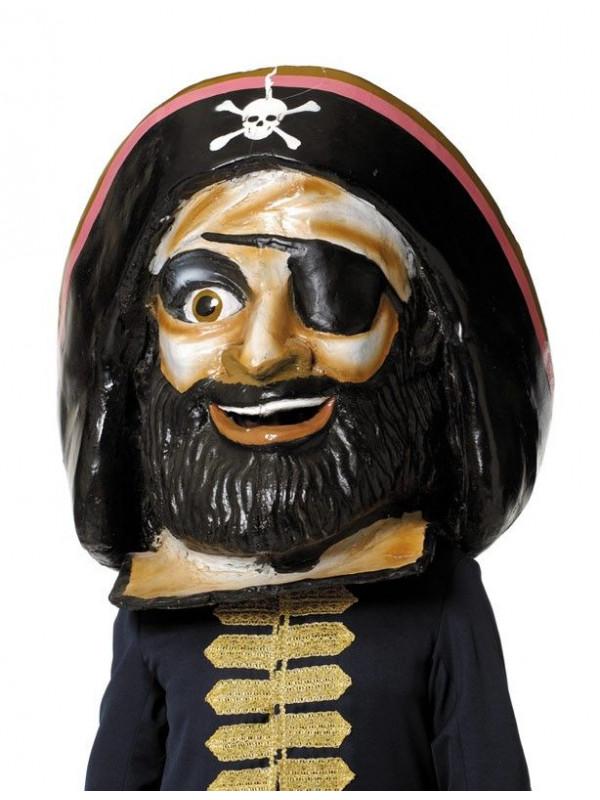 Cabezudo pirata grande
