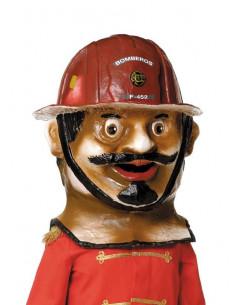 Cabezudo bombero pequeño