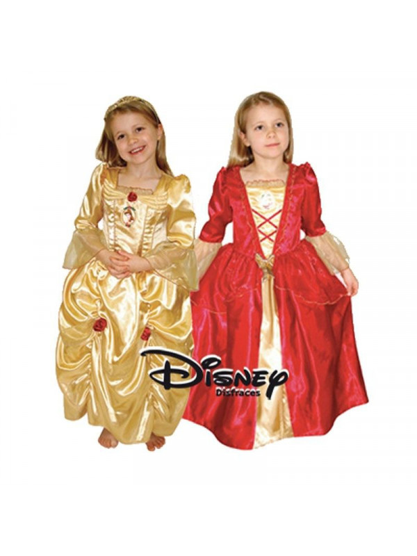 Disfraz reversible Bella Disney