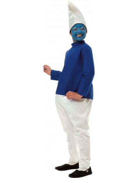 Disfraz enanito azul infanitl