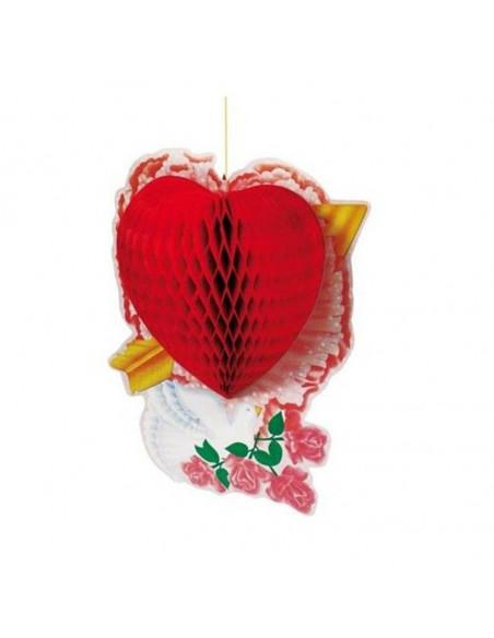 Farol corazon con flecha