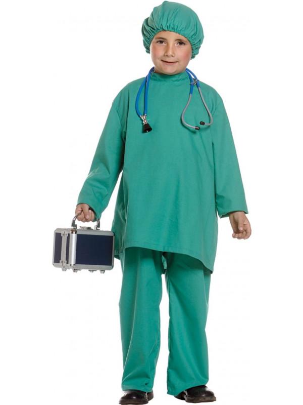 Disfraz de médico niño