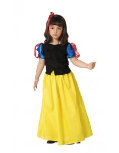 Disfraz Blanca Nieves niña  Tallas-10 años