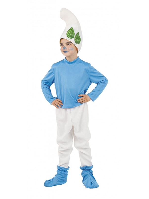 Disfraz pitufo del bosque niño