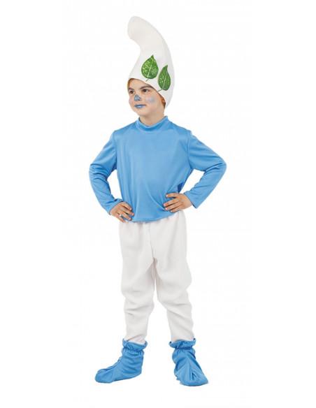 Disfraz de Gnomo Azul para niño