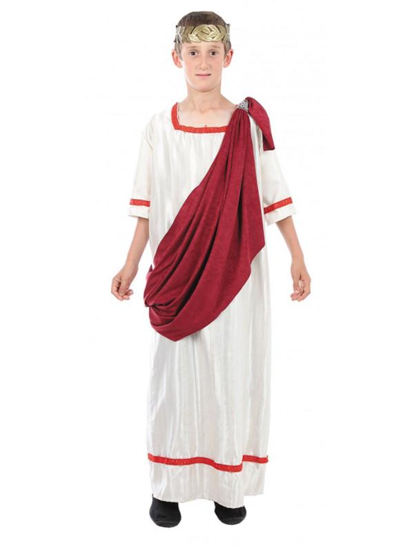 Disfraz romano senador infantil