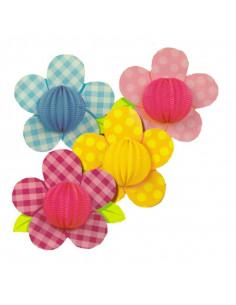 Farol con forma de flor