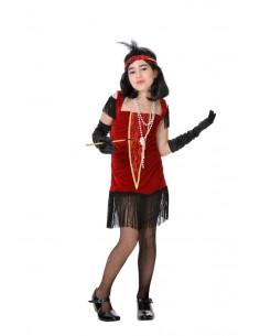 Disfraz charleston infantil