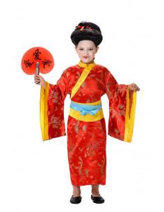 Disfraz geisha niña