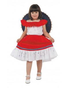 Disfraz mejicana infantil