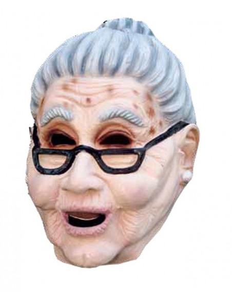 Máscara látex abuela