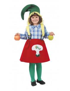 Disfraz granjera infantil  Tallas-10 años