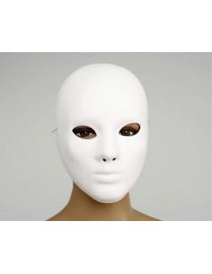 Mascara blanca para teatro