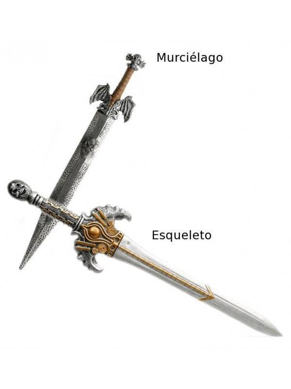 Espada barbara empuñadura dorada