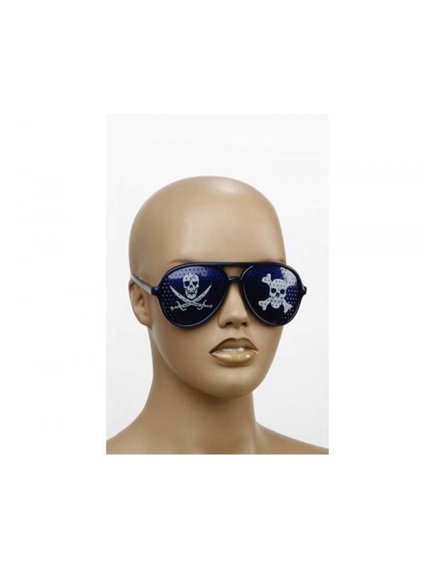 Gafas con calavera