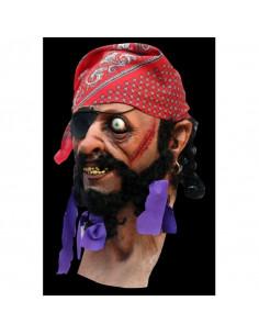 Mascara de pirata latex