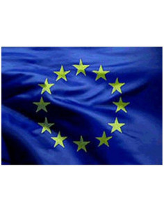 Bandera de tela UE