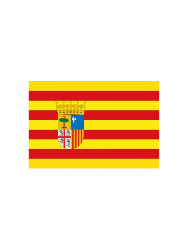 Bandera de tela Aragon
