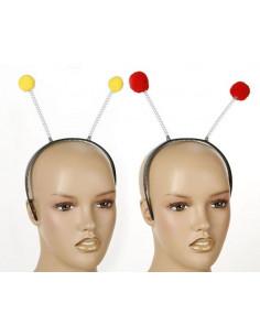 Antenas abeja y mariquita