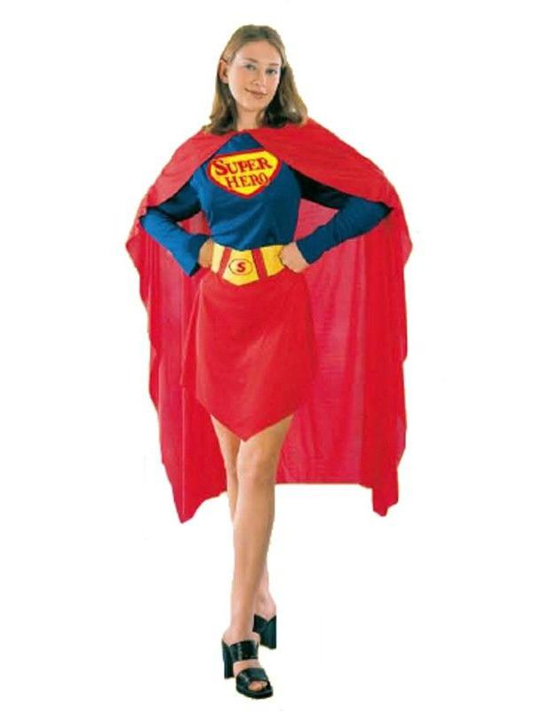 Disfraz Super Woman mujer