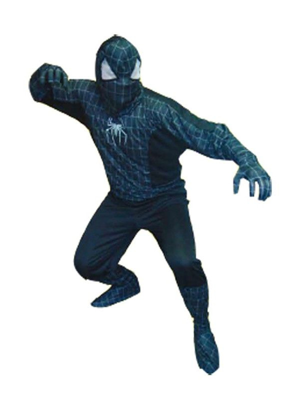 Disfraz Spiderman negro adulto