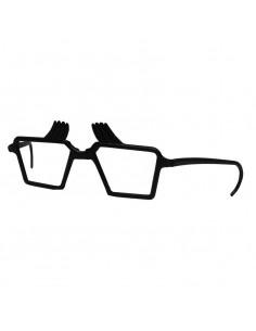 Gafas de plastico con cejas