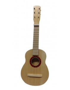 Guitarra española de madera