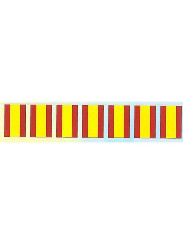 Bandera decoración fiestas plástico España