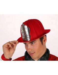 Sombrero jefe de bomberos adulto