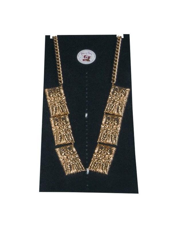 Toison dorado de 6 piezas con cadena