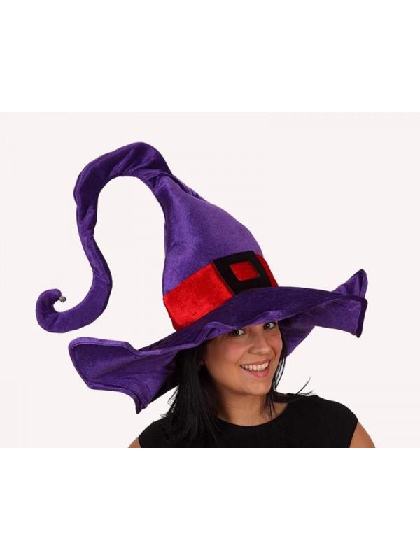 Sombrero bruja violeta