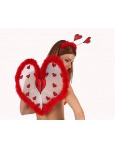 Alas corazones y antenas