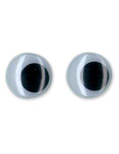 Ojos de muñeca redondos