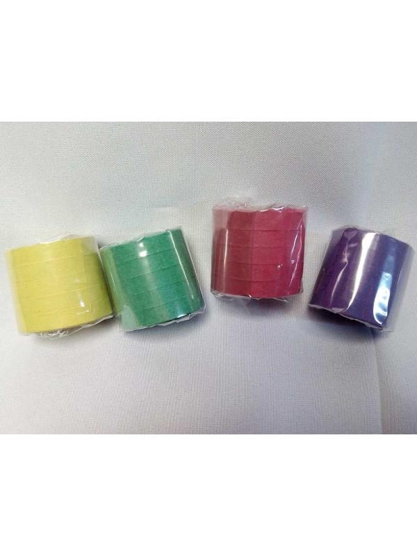 Serpentina de papel 5 rollos