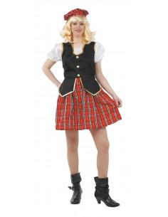Disfraces de escocesa sexy mujer
