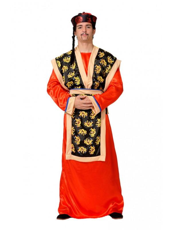Disfraces de maestro chino adulto