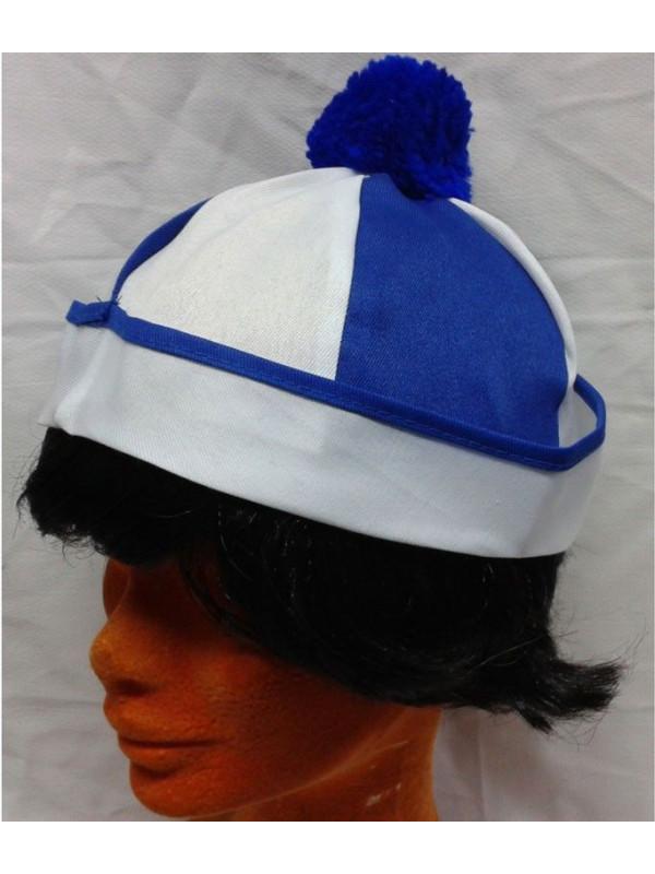 Gorro marinero grumete azul