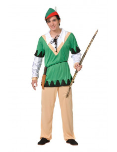 Disfraces de Robin economico adulto  Modelo-Único Tallas-XL