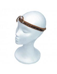 Diadema faraona con serpiente