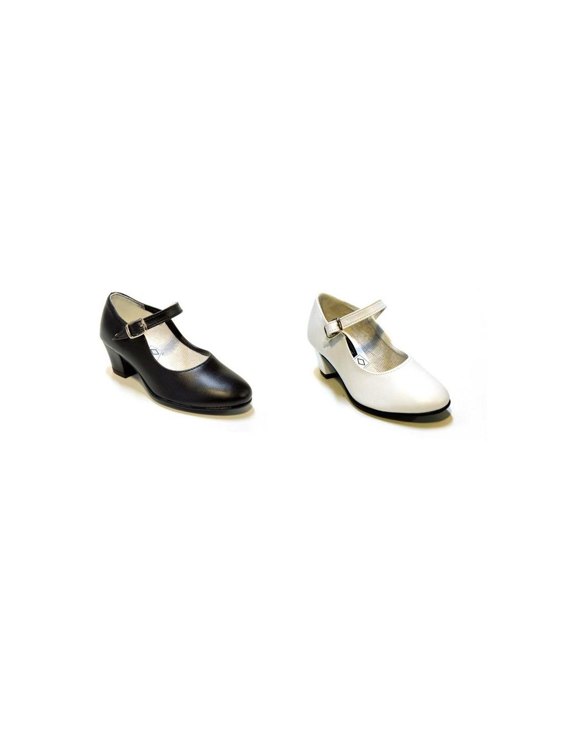 Chaussures Plaine Andalouse - Noir, Taille 38