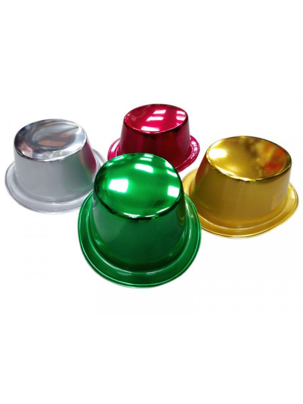Chistera plástico metalizada