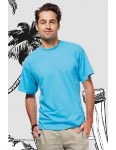 Camiseta fiestas cuello redondo